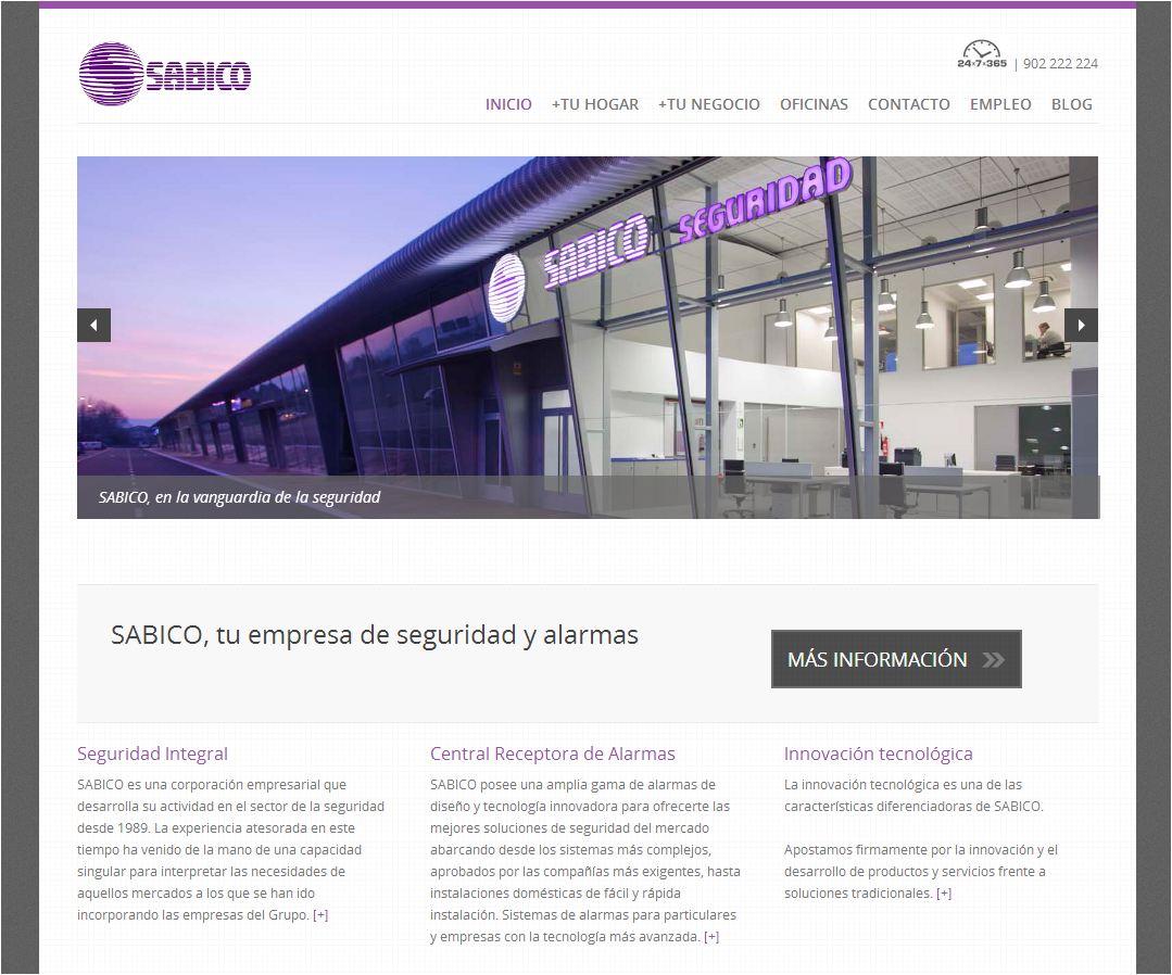 Nueva web SABICO