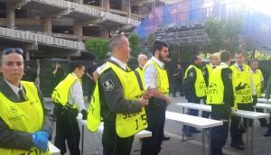 Seguridad y deporte: Accesos al Camp Nou