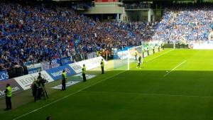 Seguridad y deporte : Partido de Futbol por el ascenso entre el Real Oviedo y el Málaga