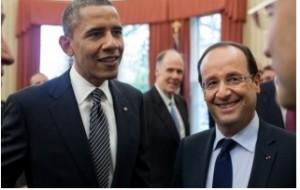 Obama y Hollande protagonistas de noticias sobre comunicaciones seguras