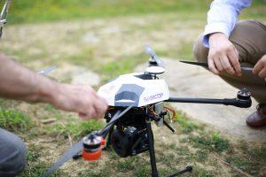 Un Dron de Sabico Seguridad